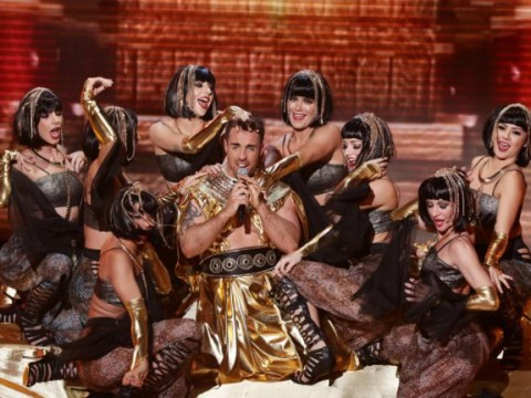 Stevi Ritchie's Egyptian-themed performance of I'm Still Standing was something X Factor fans can never unsee