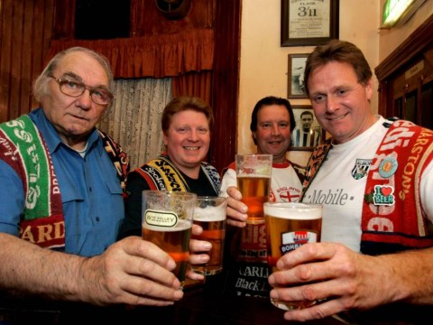 Record breaking pub crawl visits 18,000th boozer
