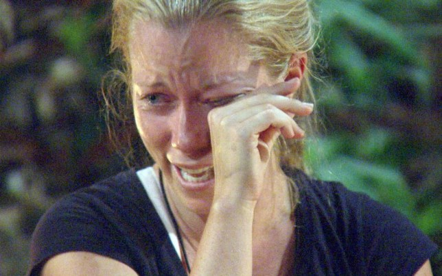 ***EMBARGO NOT TO BE USED BEFORE 21:00, 23 Nov 2014 - EDITORIAL USE ONLY - NO MERCHANDISING***  Mandatory Credit: Photo by ITV/REX (4267274gm)  Kendra Wilkinson - Care Packages...Celebs open 'Care Packages' from their loved ones  'I'm A Celebrity...Get Me Out Of Here!' TV Programme, Australia - 23 Nov 2014