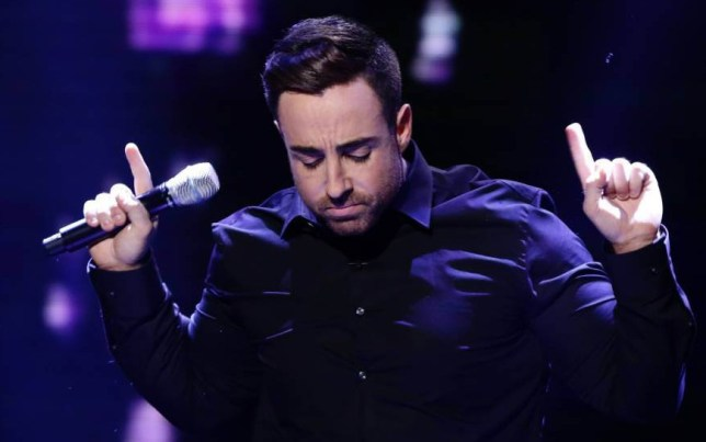 *** MANDATORY BYLINE TO READ: Syco / Thames / Corbis ***<BR /> Stevi Ritchie and Dermot O'Leary are seen on stage at the X Factor live show in London. Credit: Dymond/Syco/Thames/Corbis <P> Pictured: Stevi Ritchie <B>Ref: SPL897262  231114  </B><BR /> Picture by: Dymond / Syco / Thames / Corbis<BR /> </P>
