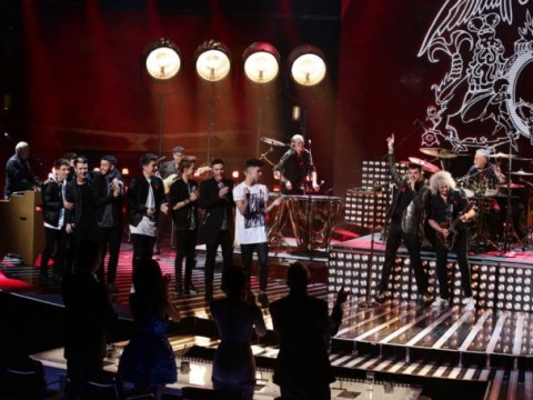 The X Factor 2014 results show RECAP: Union J, Ella Henderson and Queen perform as Stereo Kicks go home