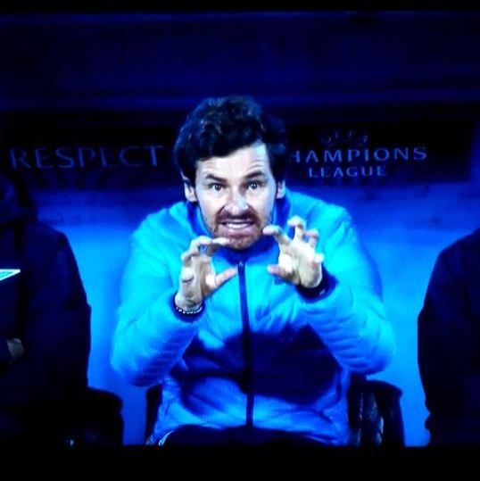 Andre Villas-Boas gives weirdest tactical advice during Zenit St Petersburg's Champions League loss