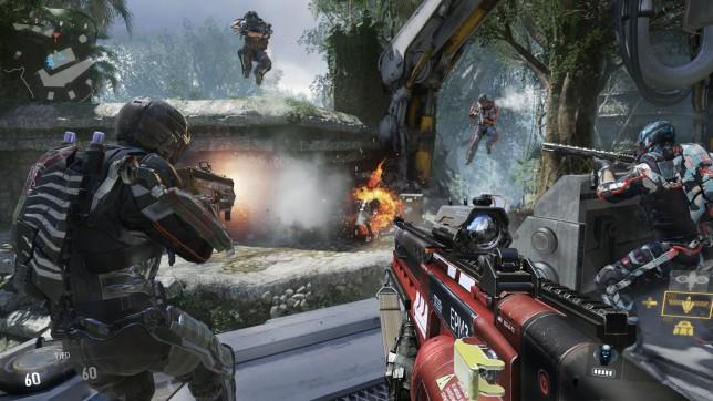 Call Of Duty: Advanced Warfare - jump for joy