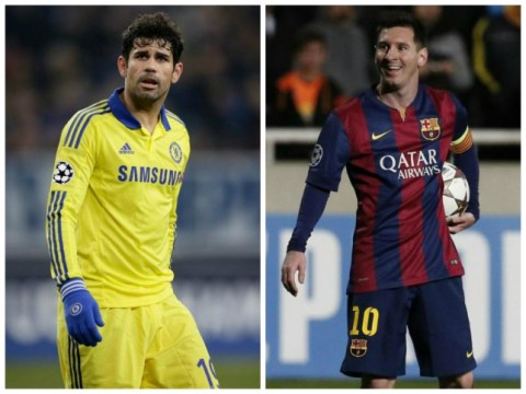 Chelsea don't need to sign Lionel Messi – stats show Diego Costa is as good as Barcelona star