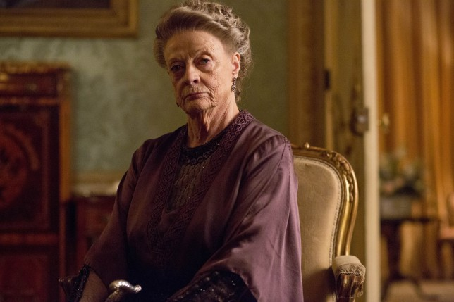 Dowager Countess Violent Crawley could be making her return to the big screen (Picture: ITV)