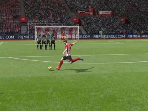 Bend it like Beckham – EA Sports give away secrets of how to net perfect free-kick on Fifa 15