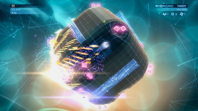 Geometry Wars 3: Dimensions (XO) - edgy shooter