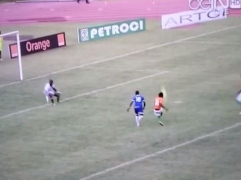 Former Arsenal man Gervinho up to his old tricks with classic miss in Ivory Coast's African Cup of Nations qualifier