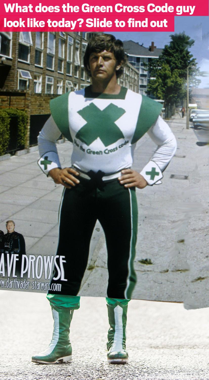 Stop! Look! Listen! Green Cross Code man is making a superhero comeback 40 years on