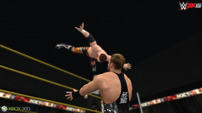 WWE 2K15 (360) - falling flat on its face