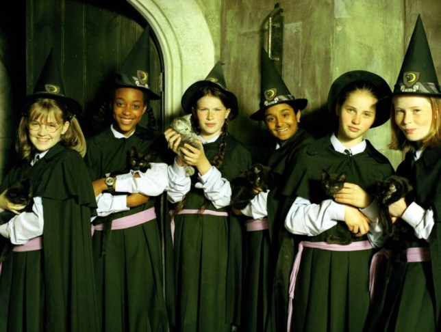 Television programme : The Worst Witch  22/10/1998 WWS/01 Copyright Galafilm Canada Inc. Global Arts Production LTD. Harlech Television Company