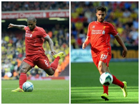Liverpool duo Glen Johnson and Fabio Borini being targeted by Inter Milan