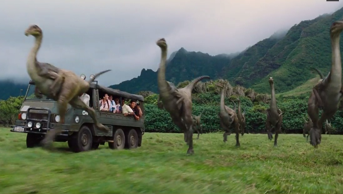 The park is open in the first teaser for the Jurassic World trailer