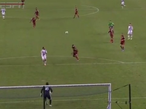 ESPN commentator uses FIFA terminology to describe Robbie Keane assist for Landon Donovan during LA Galaxy v Real Salt Lake
