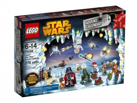 There are three Lego advent calendars – including this year's Star Wars one