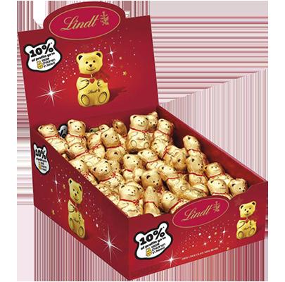 Lindt mini chocolate bears
