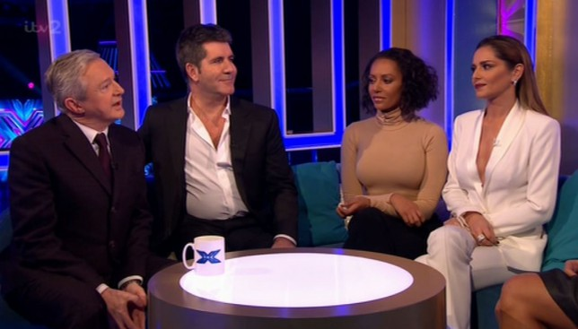 Mel B gets tetchy with Simon after Andrea Faustini's sing-off shock