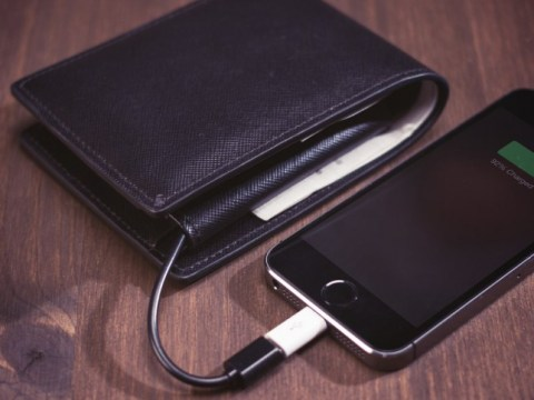 This wallet which charges your phone is pretty much the best Christmas present of 2014