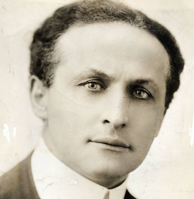 Harry Houdini, who astounded audiences with his illusions until his death in 1926