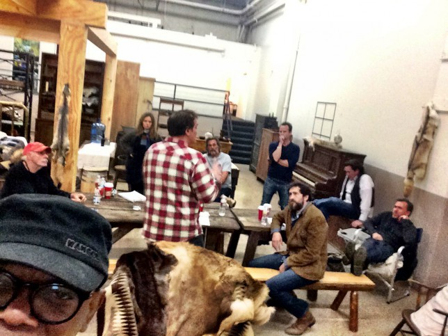 Quentin Tarantino's The Hateful Eight cast revealed in Samuel L Jackson selfie