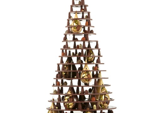 How about a chocolate Christmas tree this year?