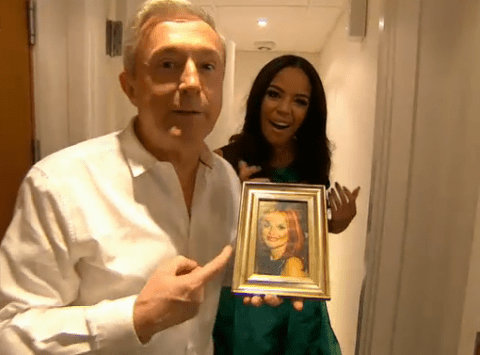 X Factor 2014: Why does Mel B have a picture of Geri Halliwell in her dressing room?
