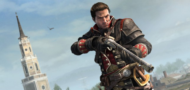 Assassin's Creed Rogue (360) - easy to miss