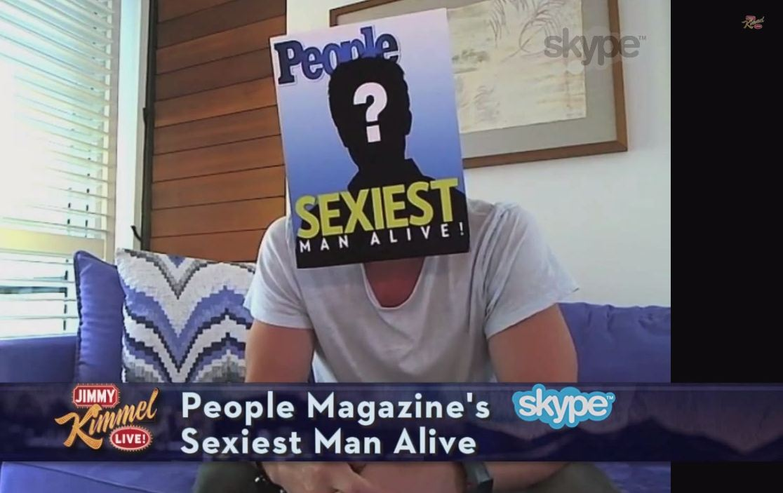 Can you guess who the sexiest man alive is?