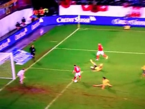Xherdan Shaqiri scores brilliant backheel goal for Switzerland