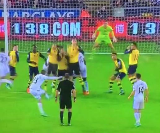 Gylfi Sigurdsson's free-kick wondergoal for Swansea sparks another late Arsenal collapse