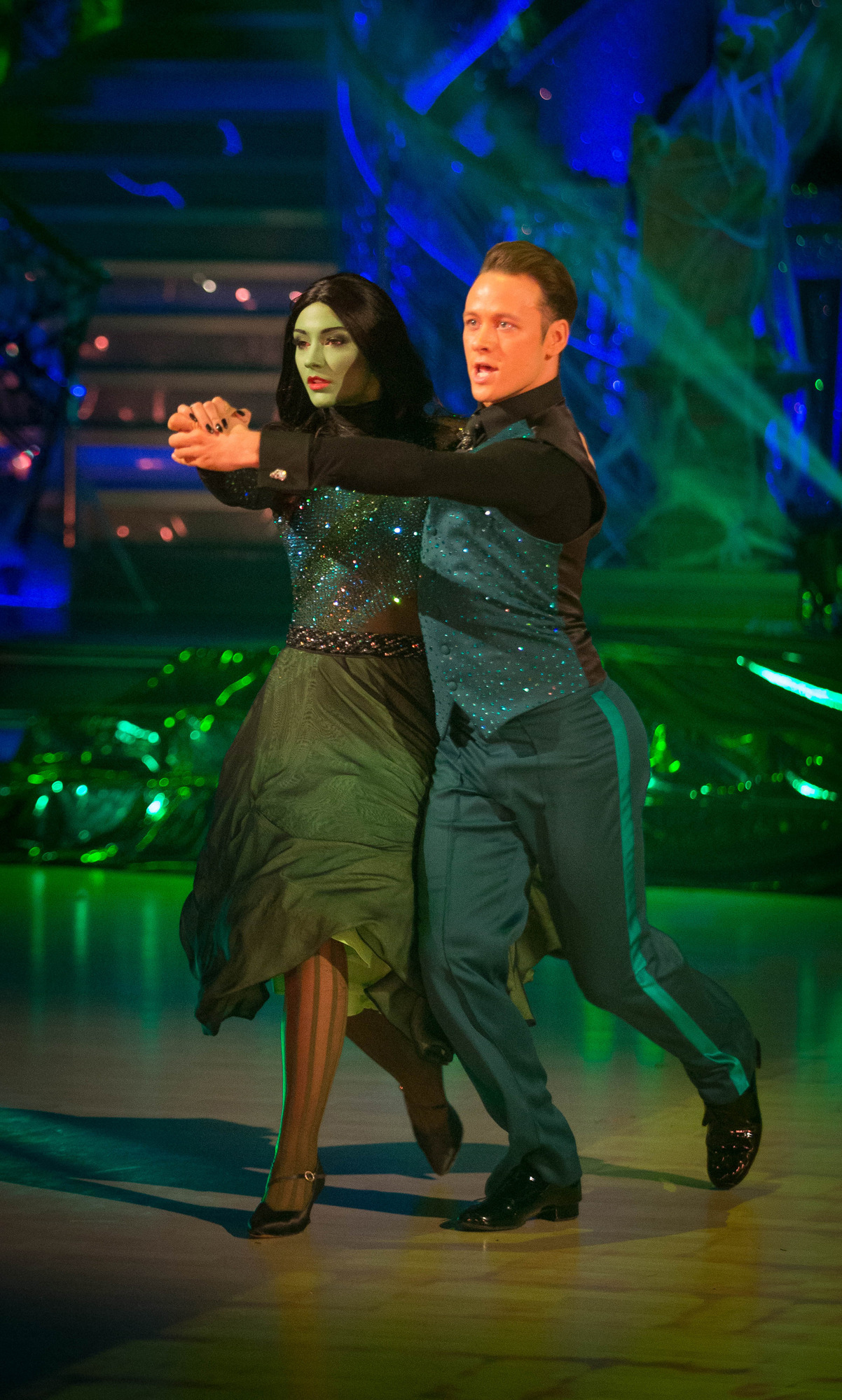 Strictly Come Dancing 2014: Frankie Bridge got an actual 10, as opposed to a 'Donny 10'