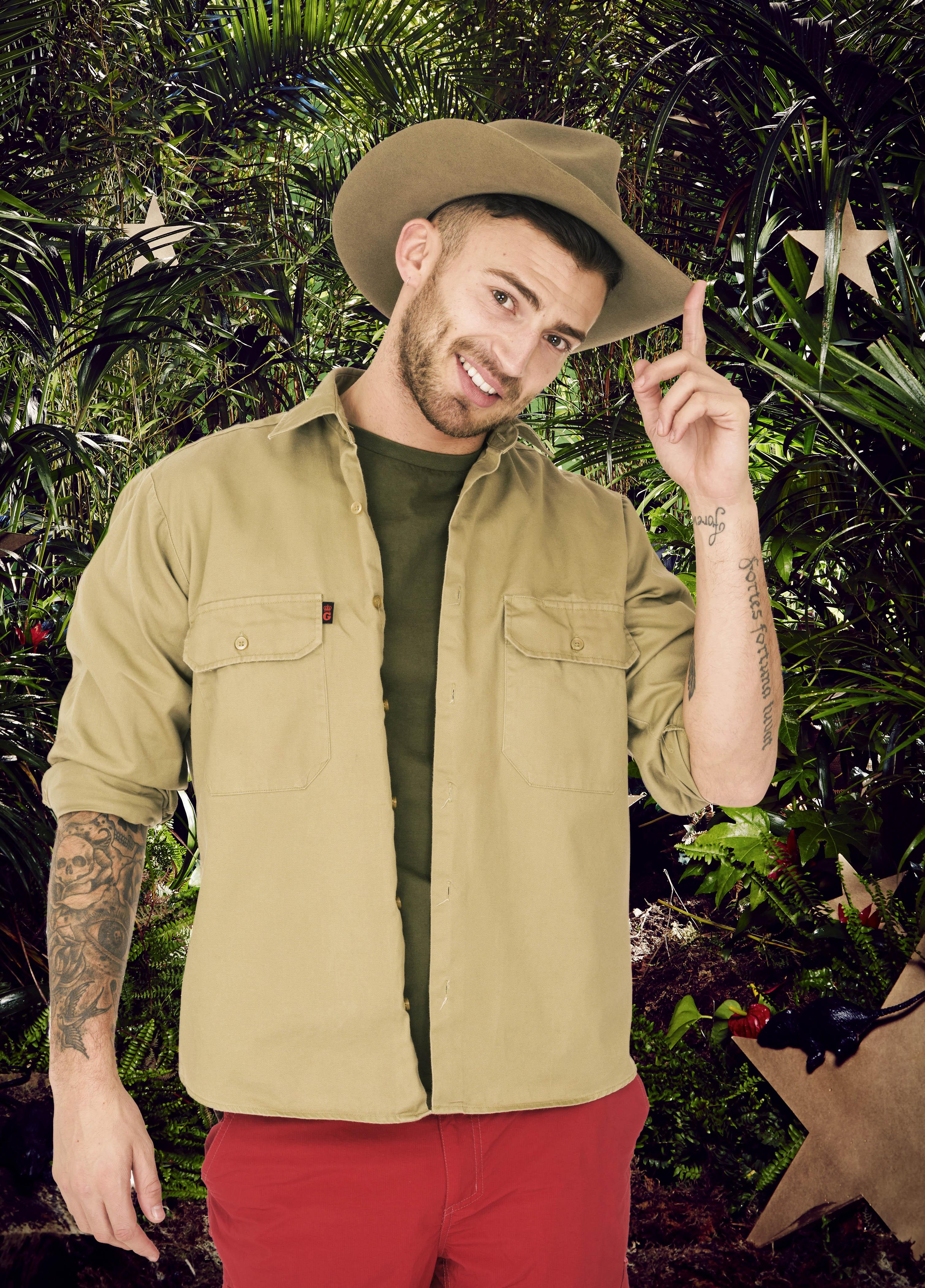 I'm A Celebrity 2014 - Jake Quickenden off X Factor 2014