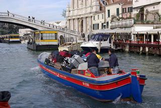 Venice has banned wheelie suitcases – handy