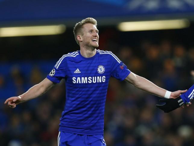 Paris Saint-Germain eye up January transfer raid on Chelsea for Andre Schurrle