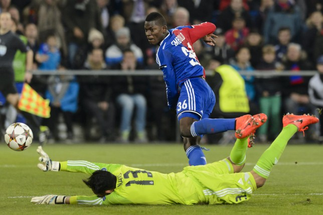 Who is Manchester United target Breel Embolo who could lead Basel's attacking line against Liverpool?