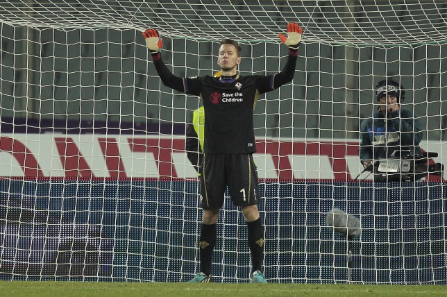 Liverpool offer Fiorentina goalkeeper Neto huge £125,000-a-week contract to seal Anfield transfer