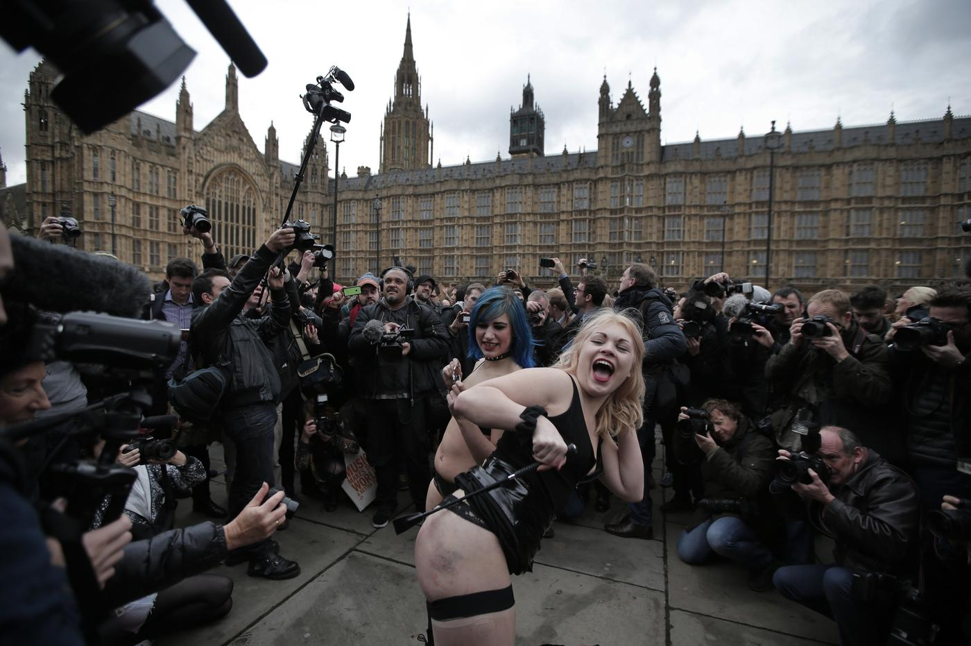 Why the 'face-sitting' protest backfired and made a mockery of porn fans
