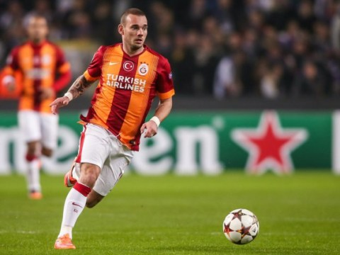 Manchester United and Southampton 'targeting Wesley Sneijder with player keen to leave Galatasaray in January'