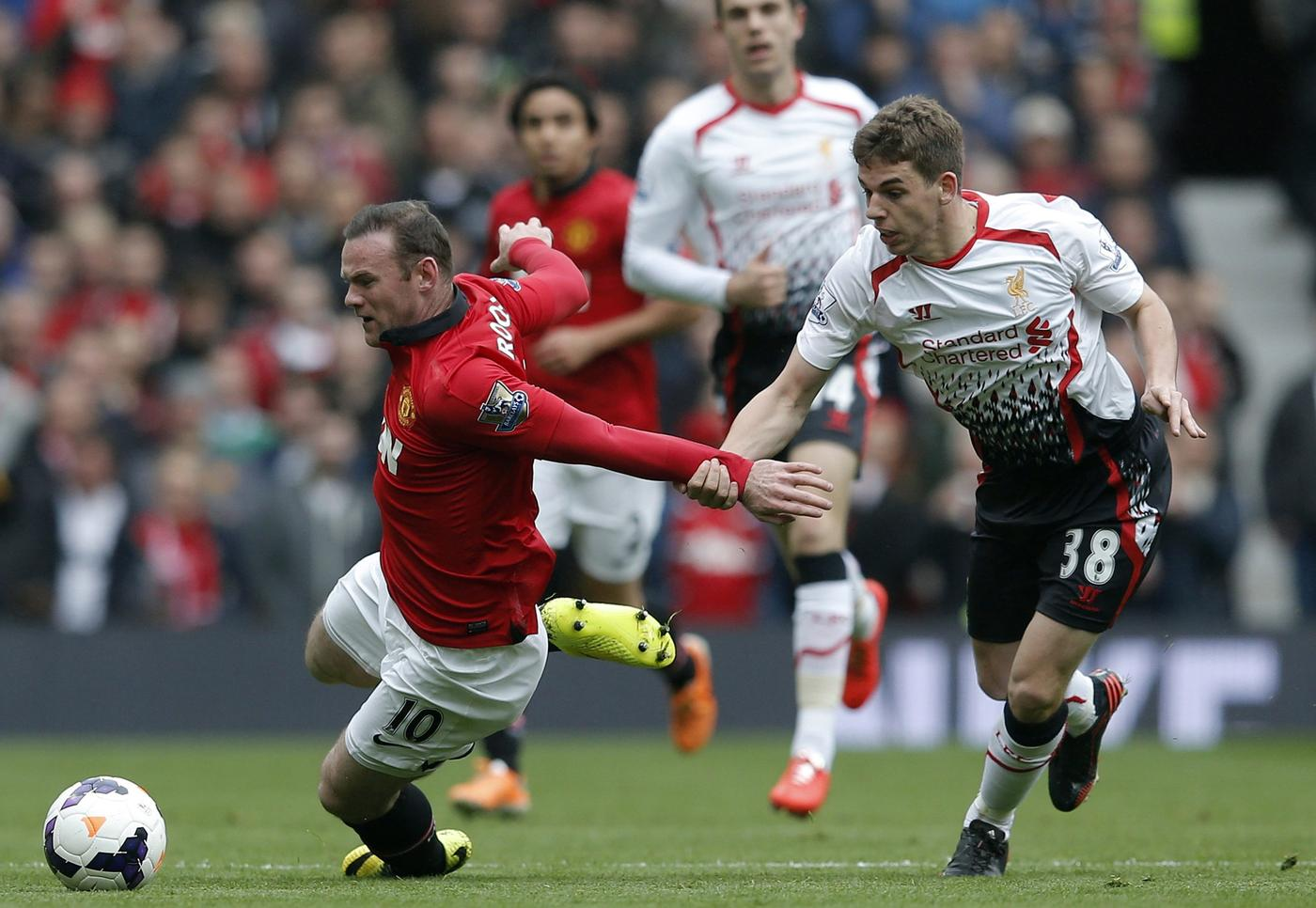 Manchester United's Sunday clash with Liverpool shows how quickly the tables can turn in the Premier League