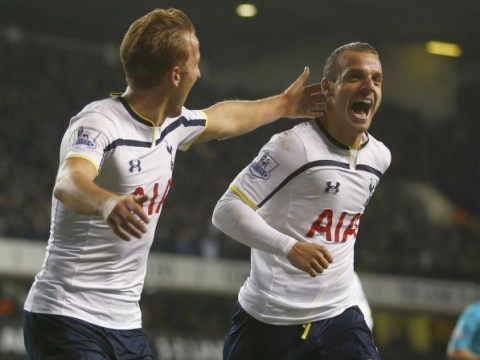 Roberto Soldado admits he cried after Tottenham fans sung his name following goal against Everton