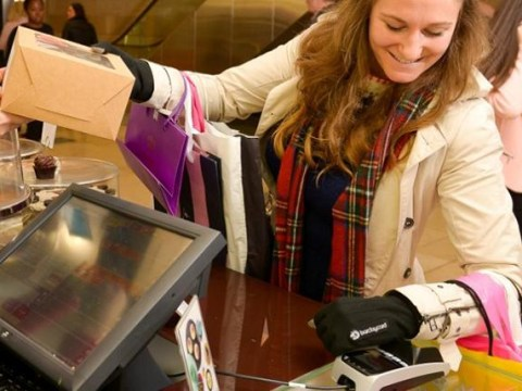 Barclaycard's new gloves let you pay for your shopping with a wave of the hand