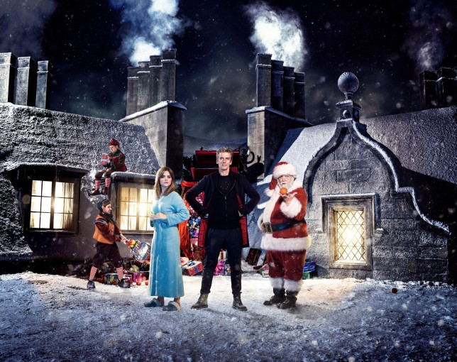 Doctor Who Christmas Special to air between Strictly and Miranda on December 25