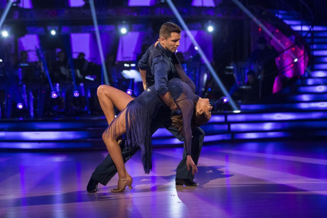 Strictly Come Dancing 2014: Caroline Flack's got the knack for tango as she tops the leaderboard