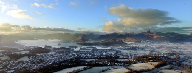 Dated: 29/12/2014 Frost covers the ground this morning near Keswick, Cumbria following one of the coldest nights of the year . Photo: ©North News