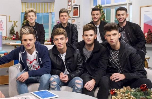 EDITORIAL USE ONLY. NO MERCHANDISING  Mandatory Credit: Photo by Ken McKay/ITV/REX (4272999be)  Stereo Kicks  'Lorraine' TV Programme, London, Britain. - 01 Dec 2014