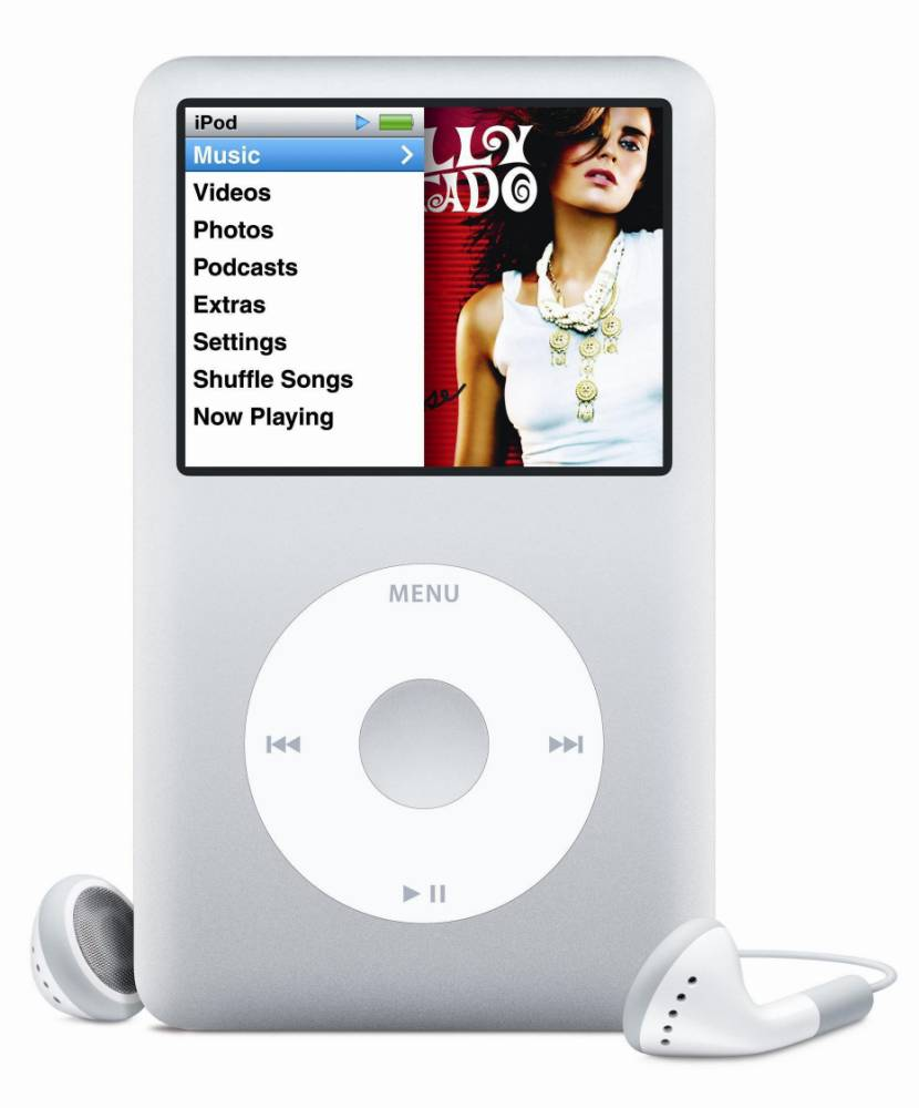 Undated Apple handout artist's impression showing the new iPod Classic, unveiled by Apple today. PRESS ASSOCIATION Photo. Issue date: Wednesday September 5, 2007. In a press conference at its California headquarters, Apple also announced it will be selling ring tones for the iPhone and ring tones from more than 500,000 songs available on iTunes will go on sale next week. See PA story CONSUMER iPod. Photo credit should read: Apple/PA Wire
