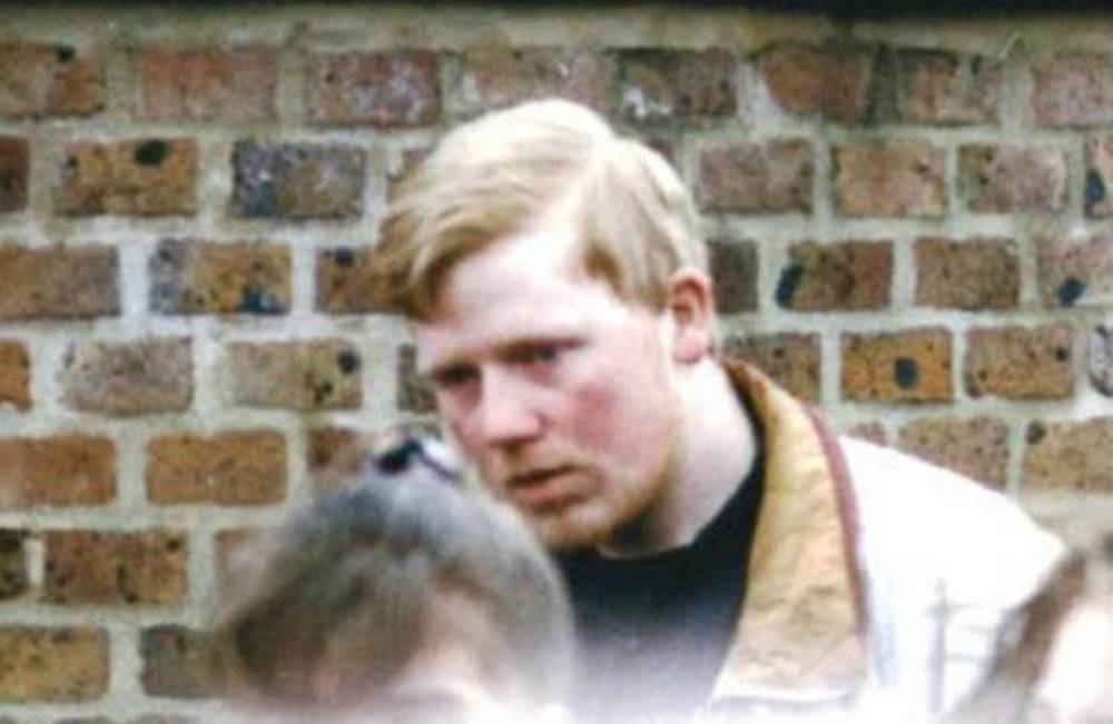 """Undated handout photo issued by Kent Police of former milkman Colin Ash-Smith, attending the funeral of Claire Tiltman, Ash-Smith has today been found guilty at Inner London Crown Court of the murder of the school girl, on January 18, 1993, in Greenhithe, Kent, just four days after her 16th birthday. PRESS ASSOCIATION Photo. Issue date: Thursday December 11, 2014. The former milkman branded """"pure evil"""" by police has been found guilty of killing the schoolgirl in a """"frenzied and remorseless"""" murder more than 20 years ago. Ash-Smith (now 46), stabbed Claire Tiltman from behind as she took a short cut through a dark alleyway to a friend's house in 1993. See PA story COURTS Tiltman. Photo credit should read: Kent Police/PA Wire  NOTE TO EDITORS: This handout photo may only be used in for editorial reporting purposes for the contemporaneous illustration of events, things or the people in the image or facts mentioned in the caption. Reuse of the picture may require further permission from the copyright holder."""