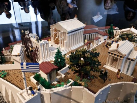 Lego Parthenon is proving more popular with tourists than the real thing