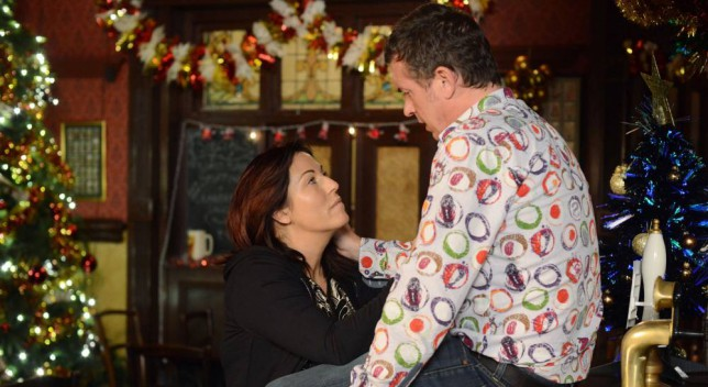 Eastenders: Kat Slater decides to spend the day working in the Vic with Alfie to cheer him up