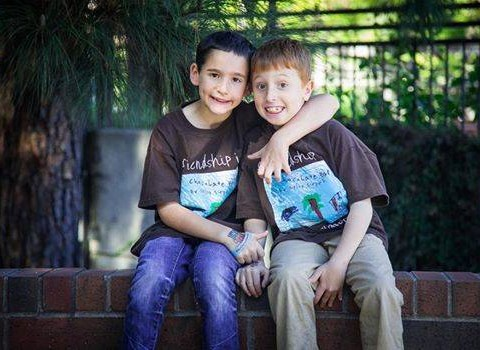 Boy, 8, raises $1million to help research best friend's incurable disease